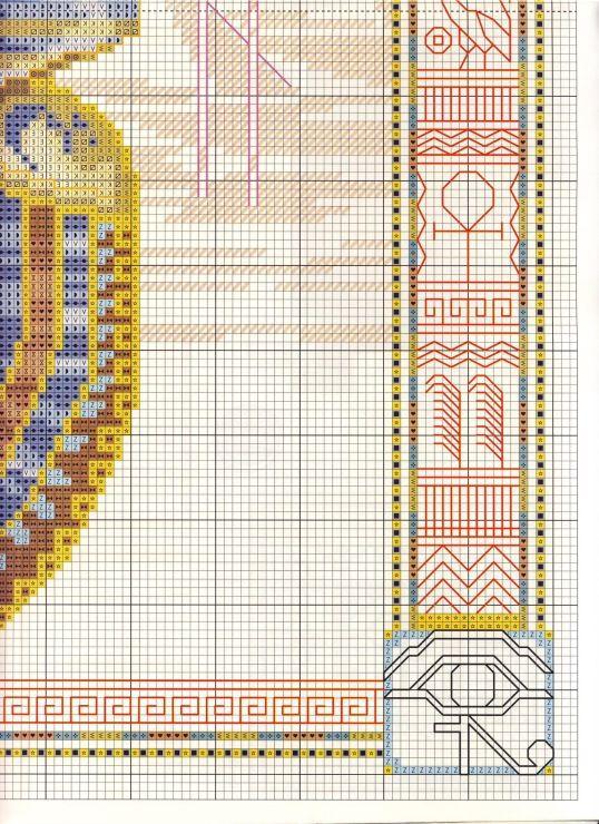 Pin von Lydia Brown auf Egyptian Cross Stitch | Pinterest ...