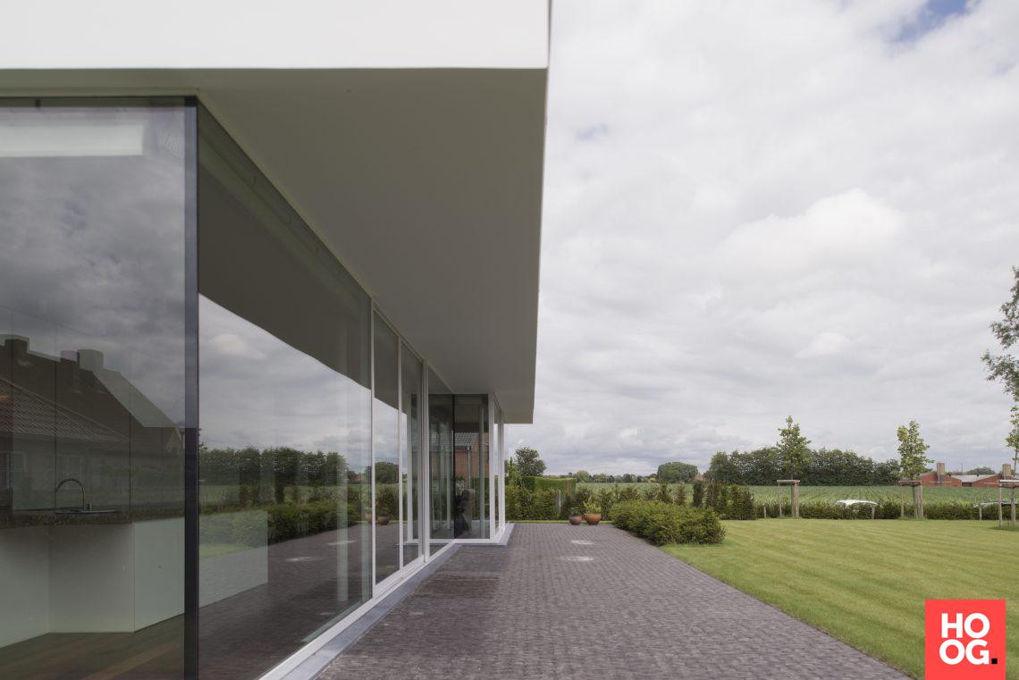 Architectenbureau glenn reynaert moderne villa k hoog