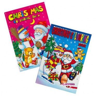 Jumbo Christmas Colouring Book /& 15 Pencils Christmas Eve Box Stocking Filler