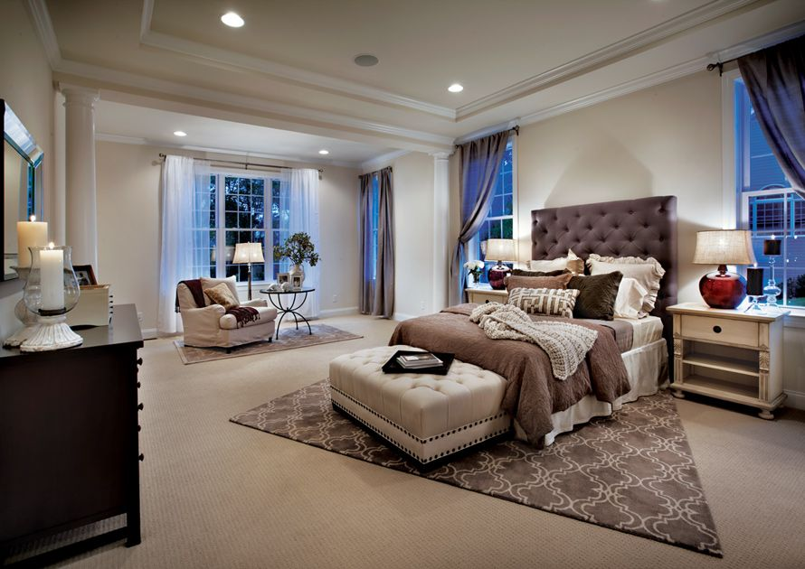 Toll Brothers First Floor Master Bedroom Suite Dream