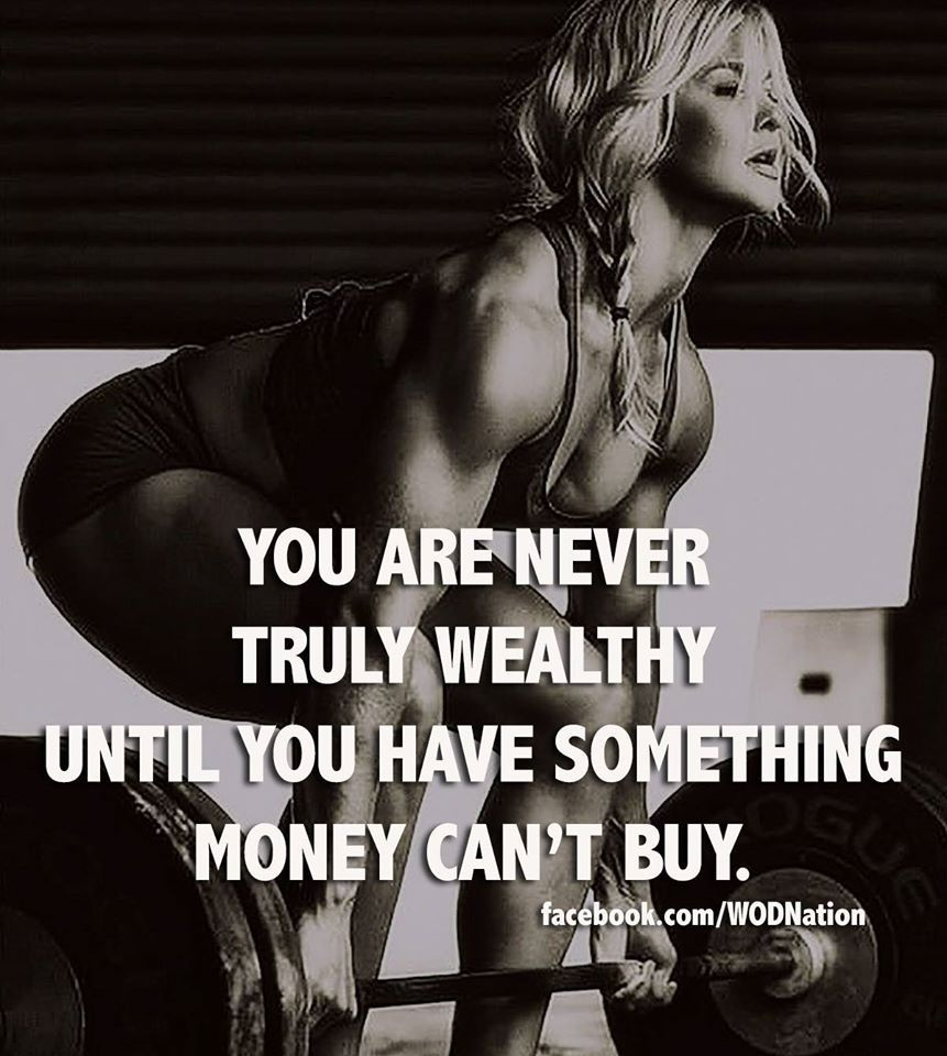 You are never truly wealthy until you have something money can t