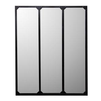 miroir en m tal 120 de hauteur par 95 cm de largeur a placer au dessus de la console alin a. Black Bedroom Furniture Sets. Home Design Ideas