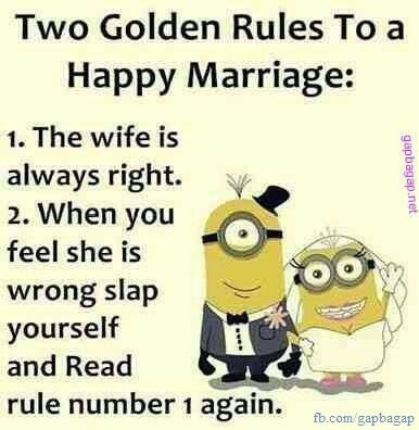 Funny Quotes About Marriage ft. #Minions | funny | Funny ...