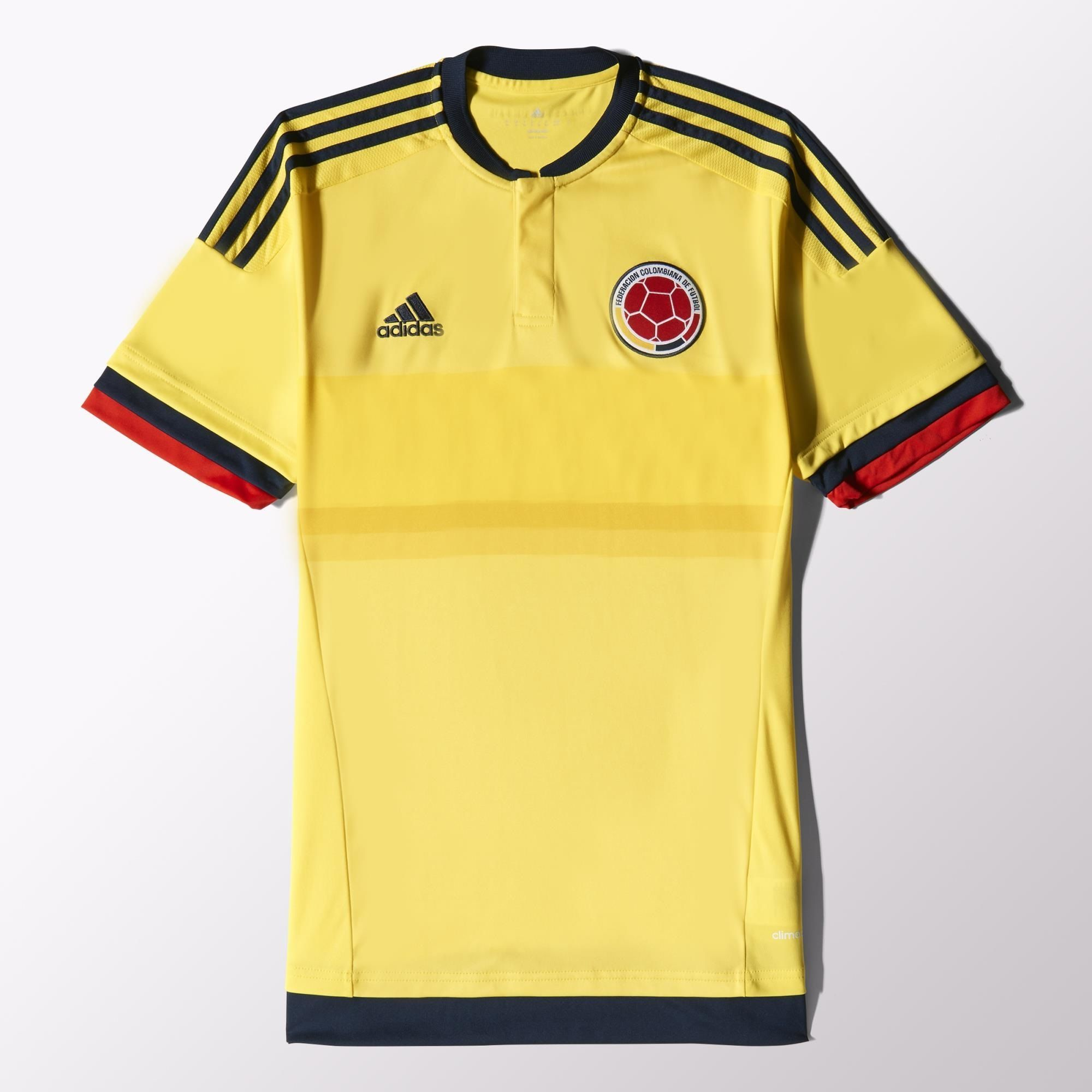 a440cf04456 adidas - Colombia Home Replica Player Jersey