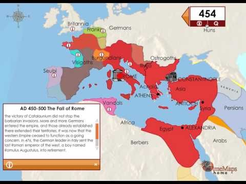 The fall of the roman empire 4 5th century europe interactive the fall of the roman empire 4 5th century europe interactive animated history map with gumiabroncs Gallery