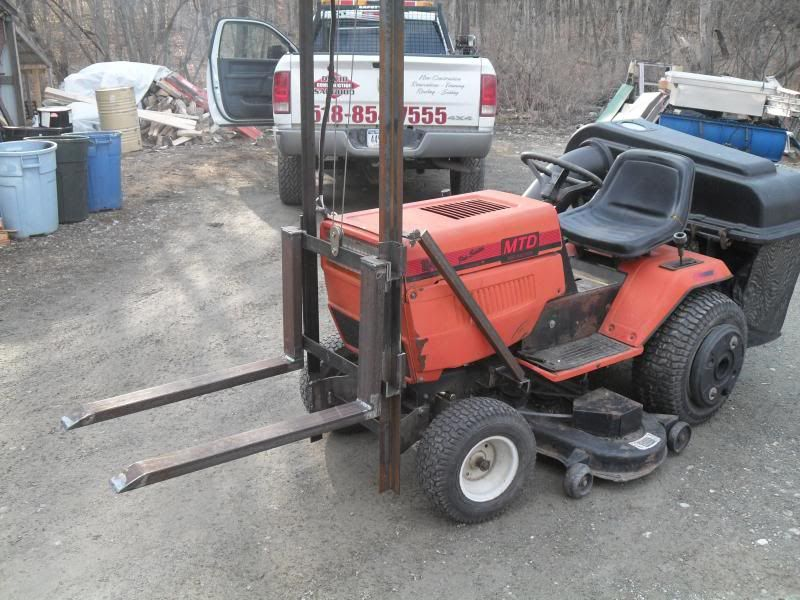 My Little Forklift Project For My Mtd Mytractorforum Com