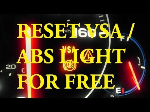 Acura Honda How To Reset Abs Light And Vsa Light Free Abs Acura Repair