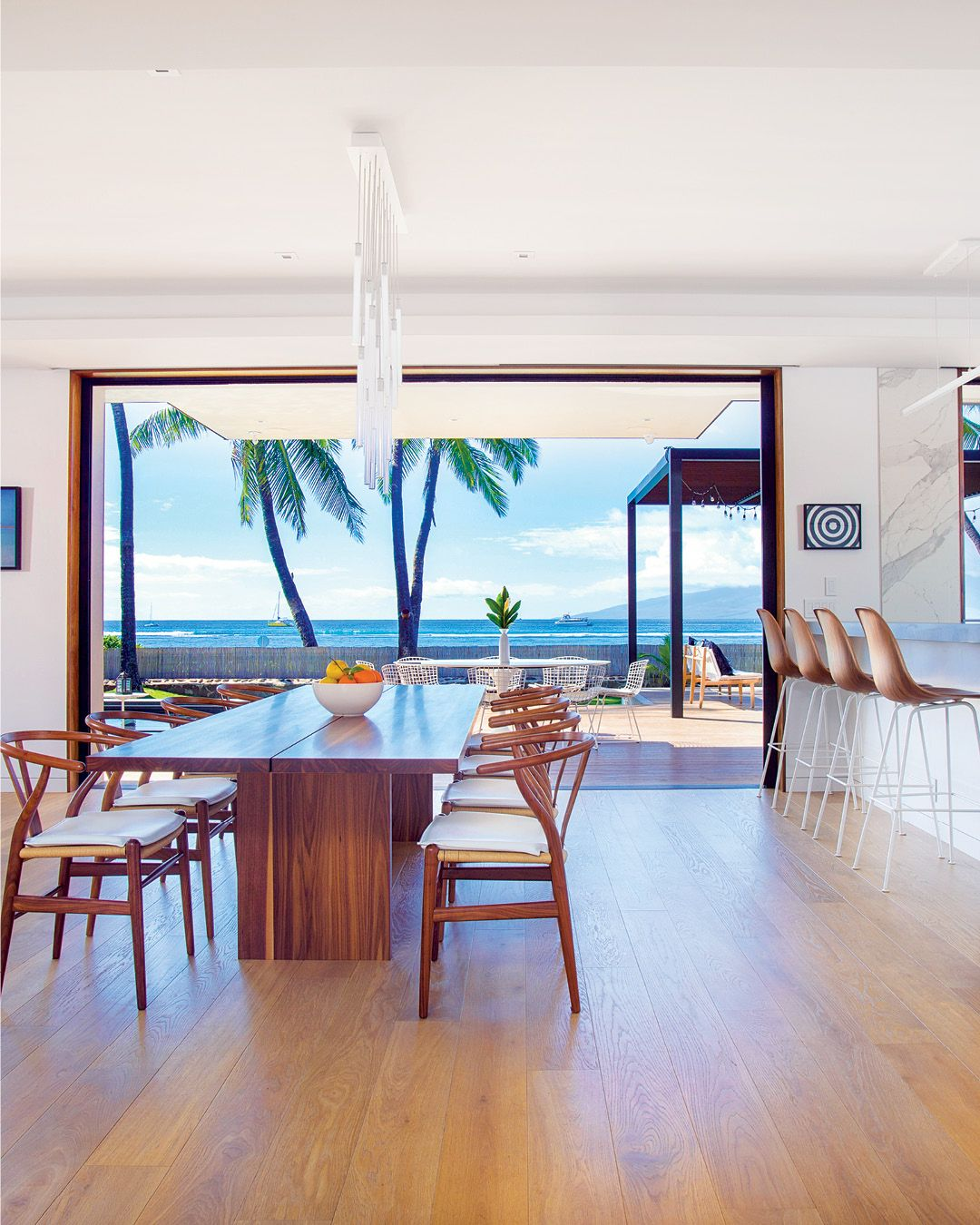 Hawaiian Home Design Ideas: A Sleek New Maui Beach House Is Designed For Endless