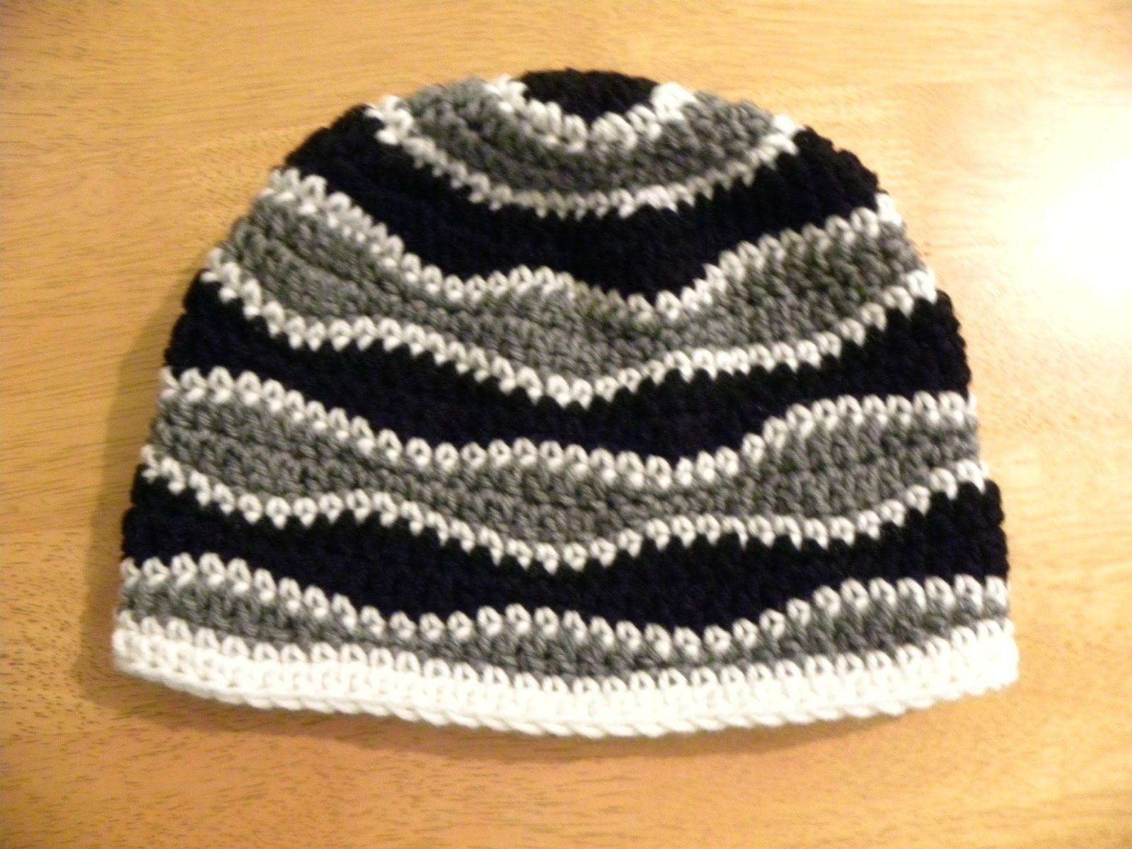 Gorro para adulto con diseño de onda   crochet   Pinterest   Ondas ...