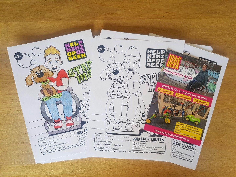 Kleurplaat Tekenen Kinderfiets Kleurplaten