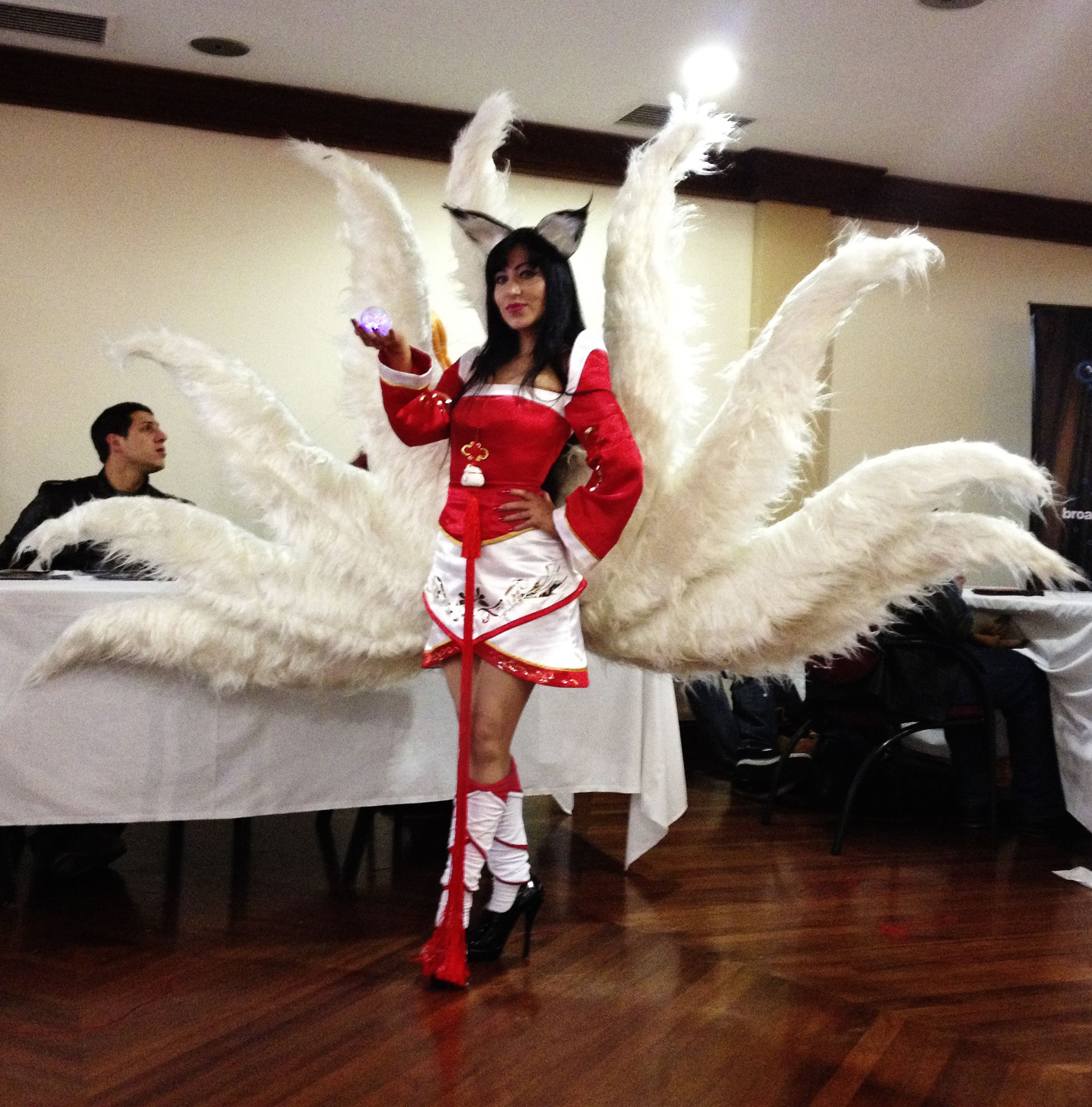Ahri cosplay