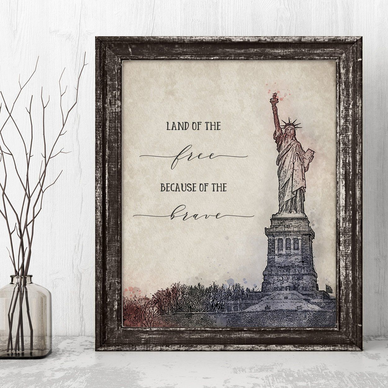 Statue Of Liberty Printable Land Of The Free Because Of
