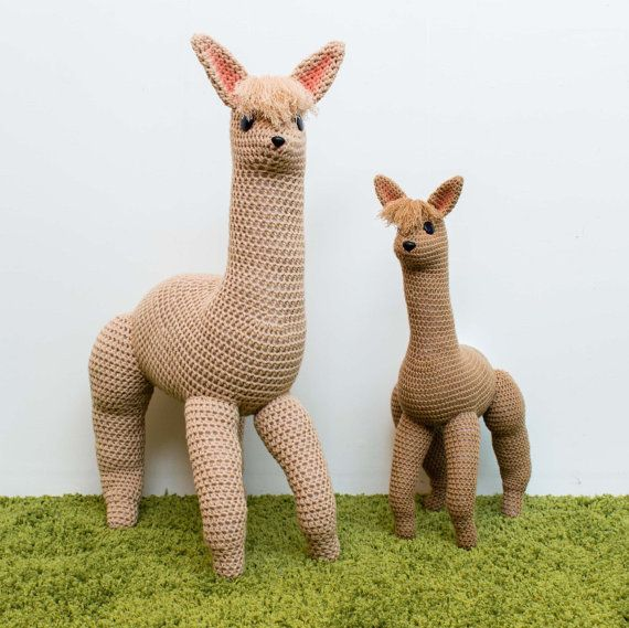 Crochet Alpaca Pattern By Knitsforlife Etsy Finds Pinterest