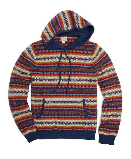 Look of the Day – The Perfect Hoodie From Brooks Brothers | Brooks ...