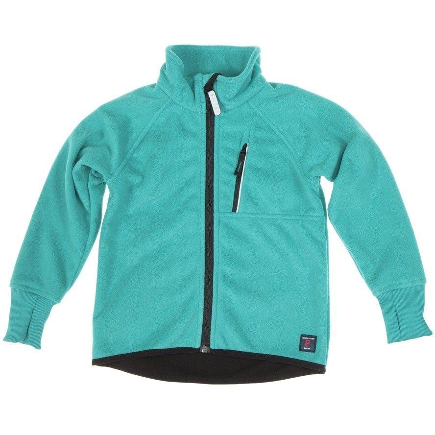 Polarn O. Pyret Blue Kids Fleece Jacket. Layers, winter warmer ...