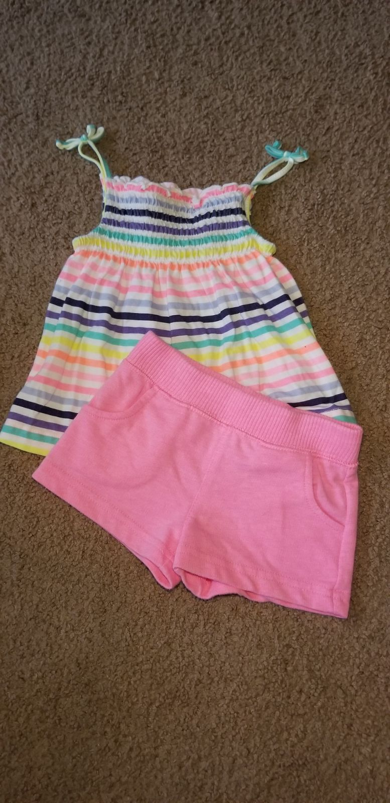 365ab32de0fa New!!! (Without tags). Super cute striped 2 piece Carter's baby ...
