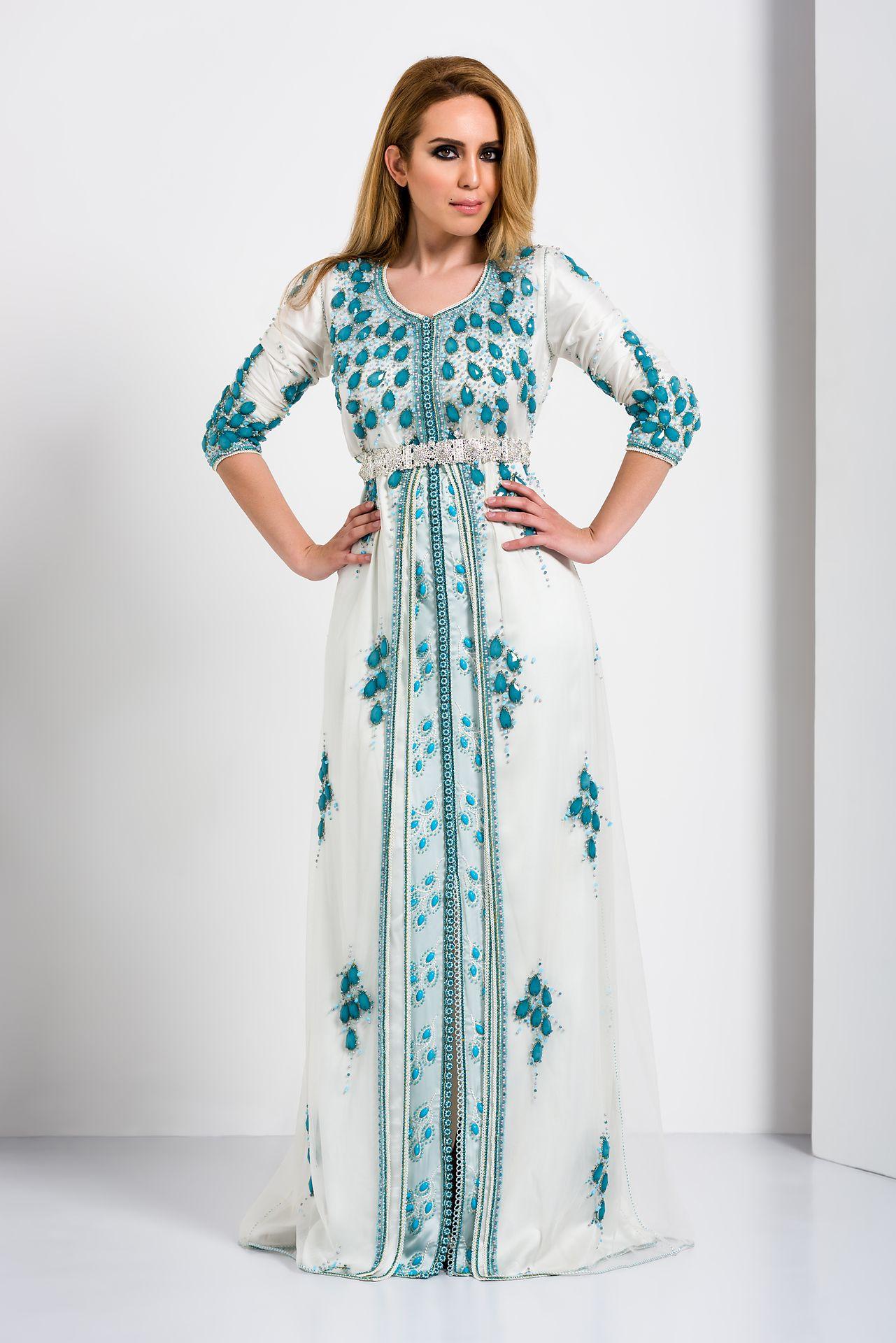 Kaftan Fes Amsterdam - Marokkaanse bruidsjurken, feestjurken ...