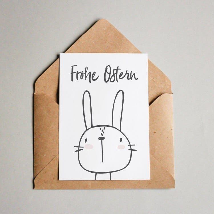 Postkarte - Frohe Ostern #2020sprüche