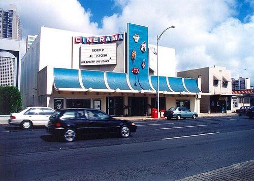 Cinerama Theater on King St  | Old history | Vintage hawaii