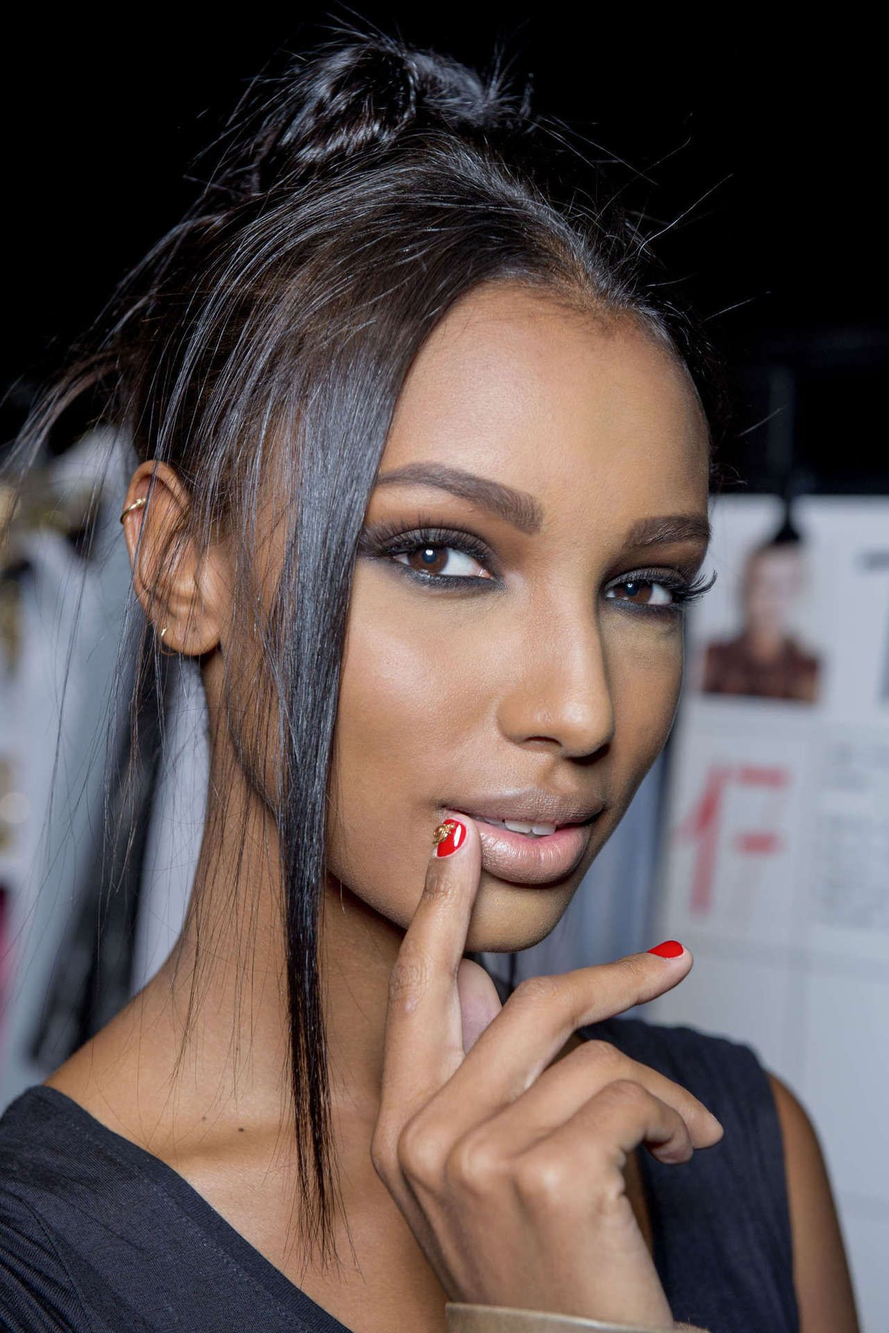 Jasmine Tookes  Makeup  Ebony Beauty, Makeup Looks, Hair -6570