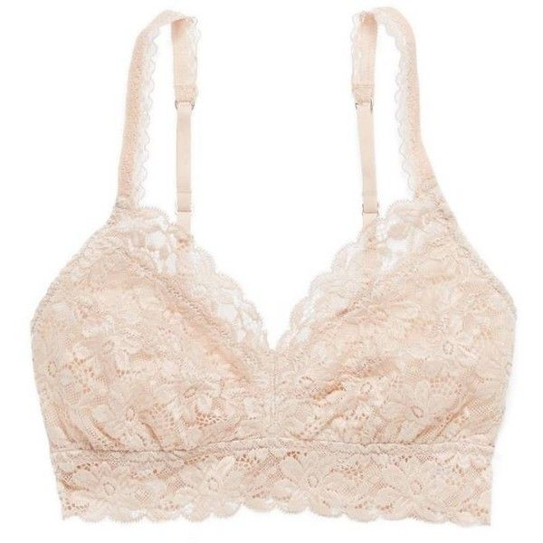 cf91b8aa593 Aerie Classic Lace Bralette ( 18) ❤ liked on Polyvore featuring intimates