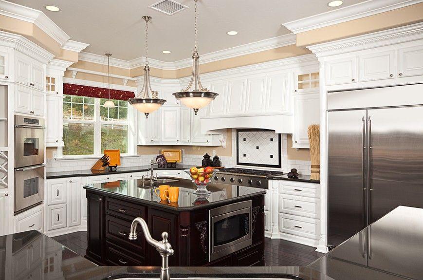 Lovely Bild Von Weißen Küche