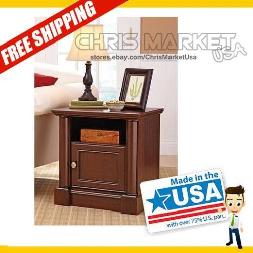 Better Homes And Gardens Nightstand Ashwood Road Bedroom Cherry