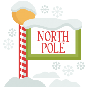 christmas north pole sign svg my miss kate cuttables pinterest rh pinterest com north pole sign clipart north pole sign clipart