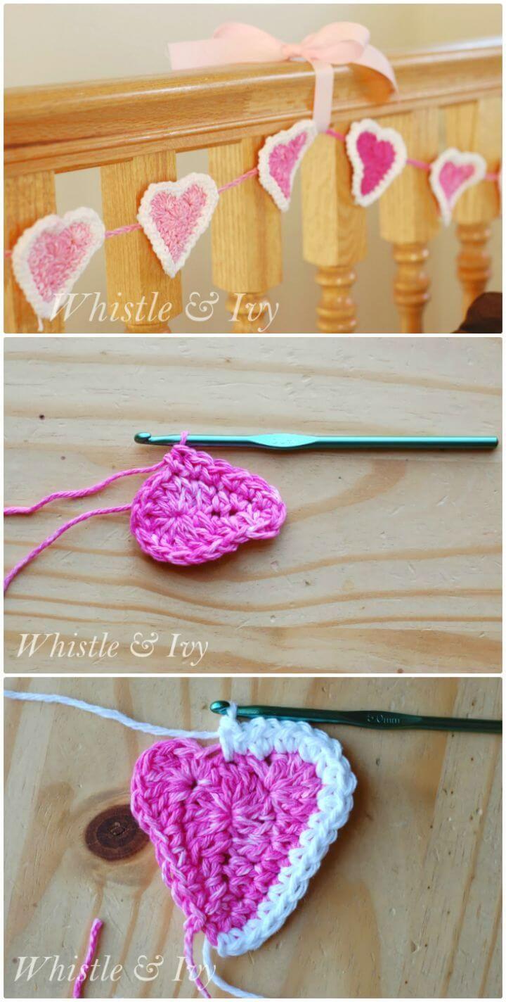 Crochet Garland Pattern - 73 Free Crochet Garland Ideas   Garland ...