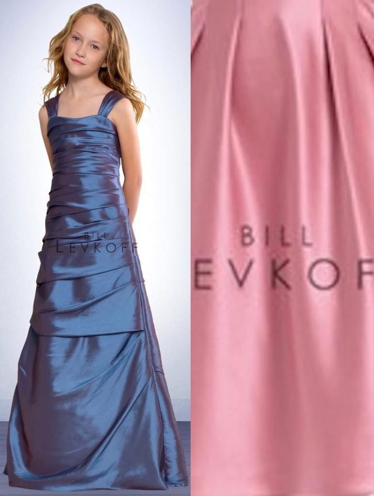 Awesome great bill levkoff junior bridesmaid dress 53002 satin awesome great bill levkoff junior bridesmaid dress 53002 satin gown new flower girl cool check more ombrellifo Images