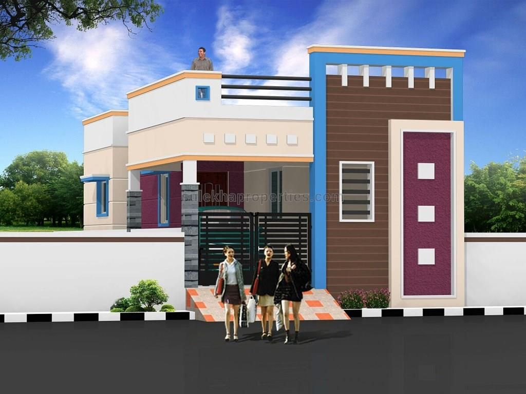 Related image Village house design, Small house front