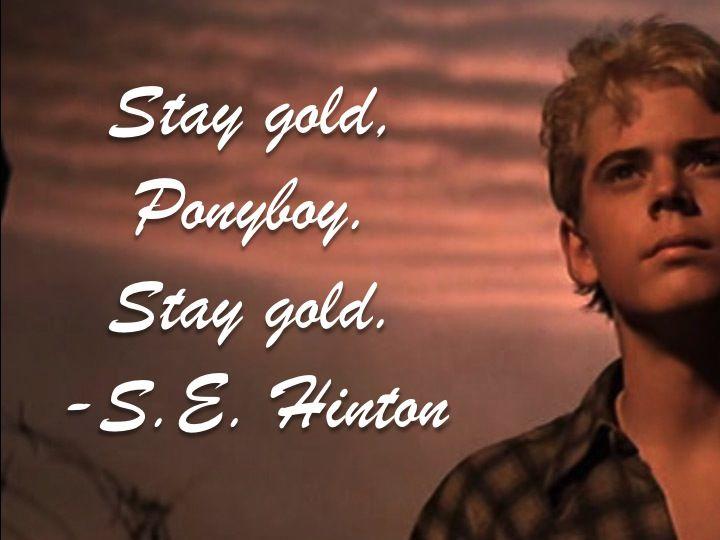 Image result for stay gold ponyboy