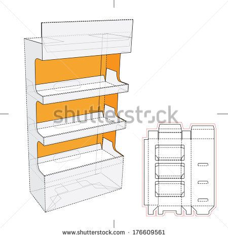 display stand template