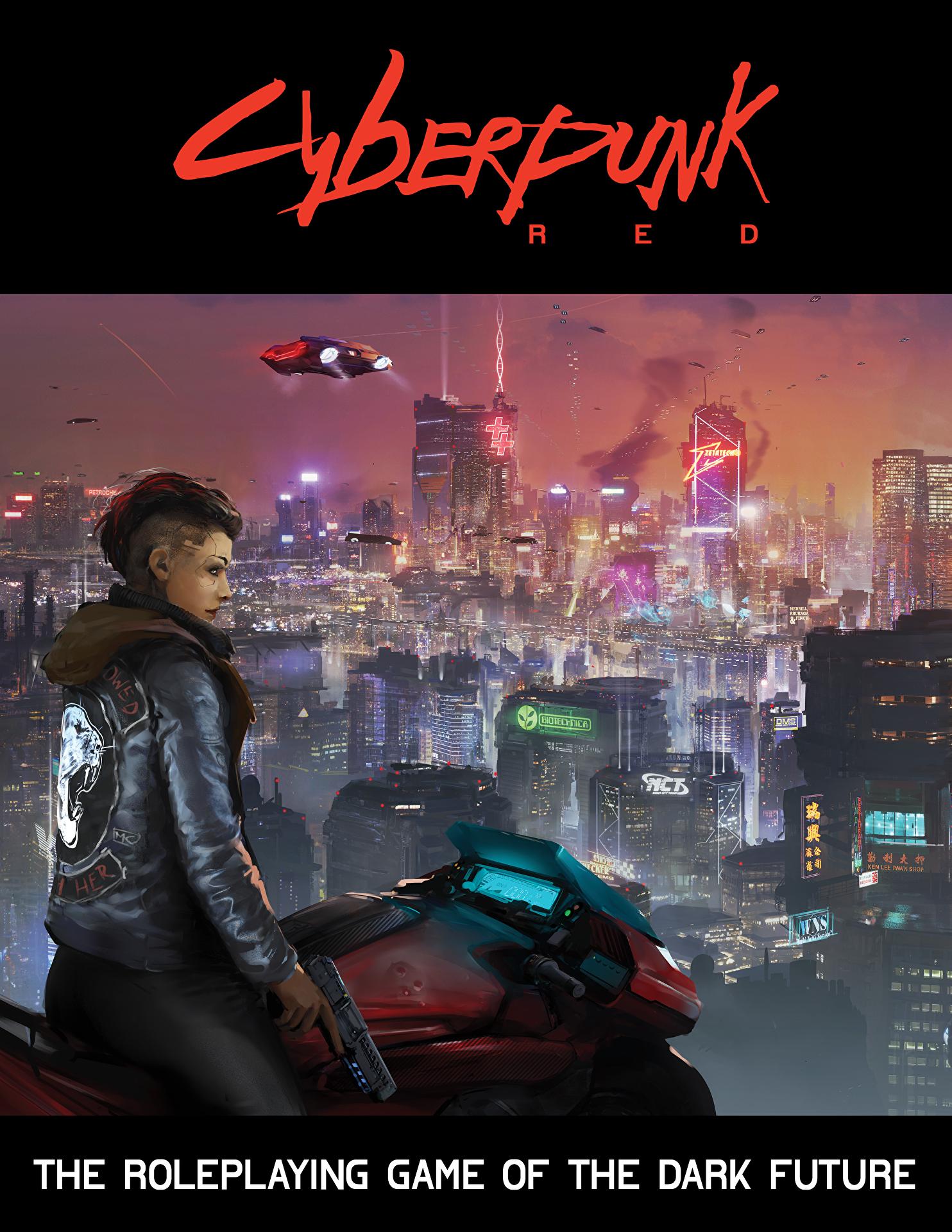 Cyberpunk Red Cover Kazuliski in 2020 Cyberpunk 2077