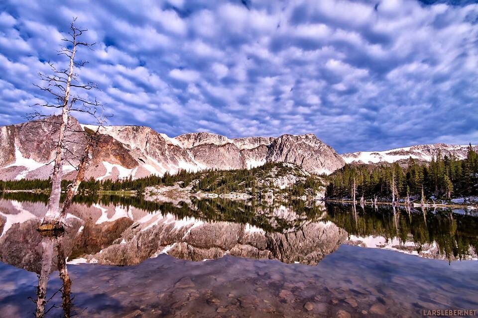 Mirror Laky (Snowy Range, Wyoming) Photo by Lars Leber