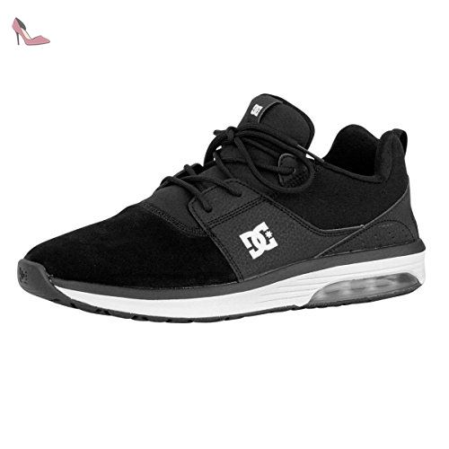 Zapatos Dc Heathrow Ia Negro (Eu 40.5 / Us 8 , Negro)