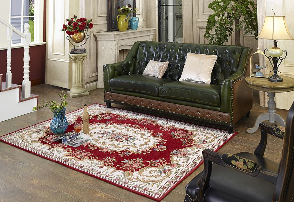 Wilton Aubusson Carpet Living Room Yoga Mat Jacquard rug Floor ...