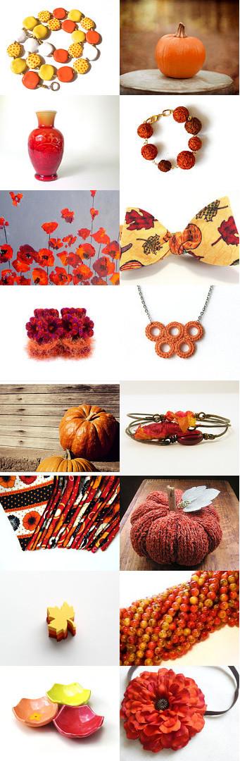 Autumn Burst by Jessica Guptill on Etsy--Pinned with TreasuryPin.com
