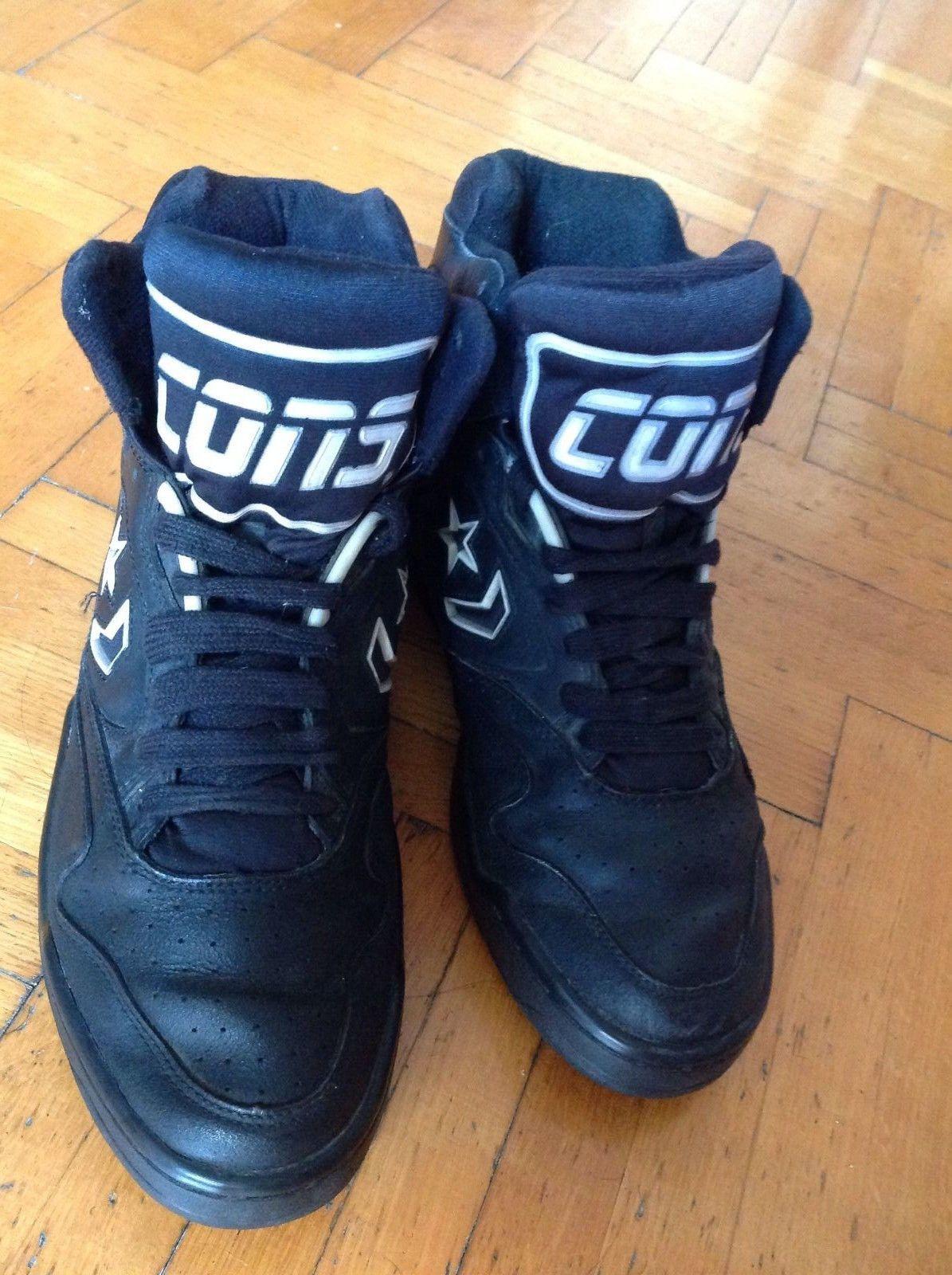 675984f1050 Converse Cons ERX Hi Top Size 9 1 2 US Black 90 s Vintage Basketball NBA