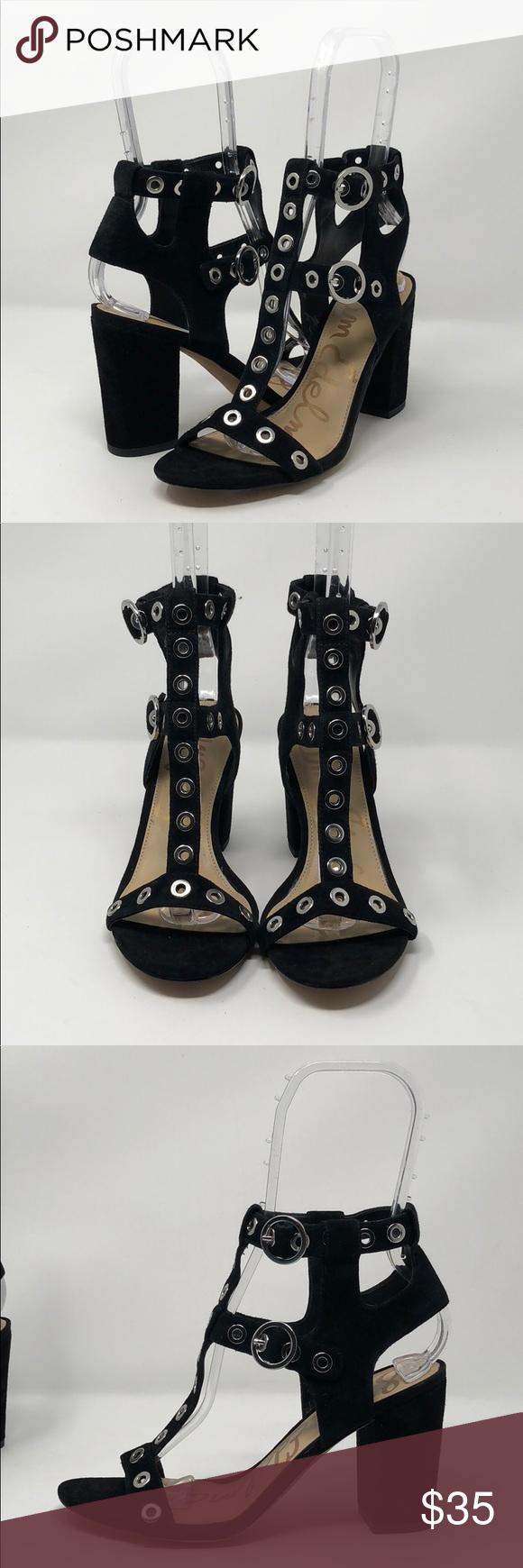 5fce3a3b3561d NWOT Sam Edelman Women s Eyda Dress Sandal Shoes are new. - Heels are  approximately 3.25