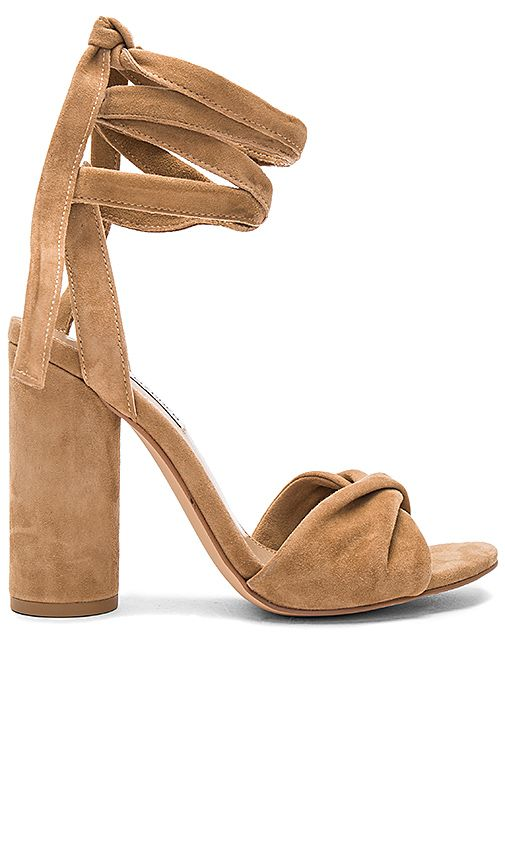 615e46d6085 Steve Madden Clary Heel in Camel Suede