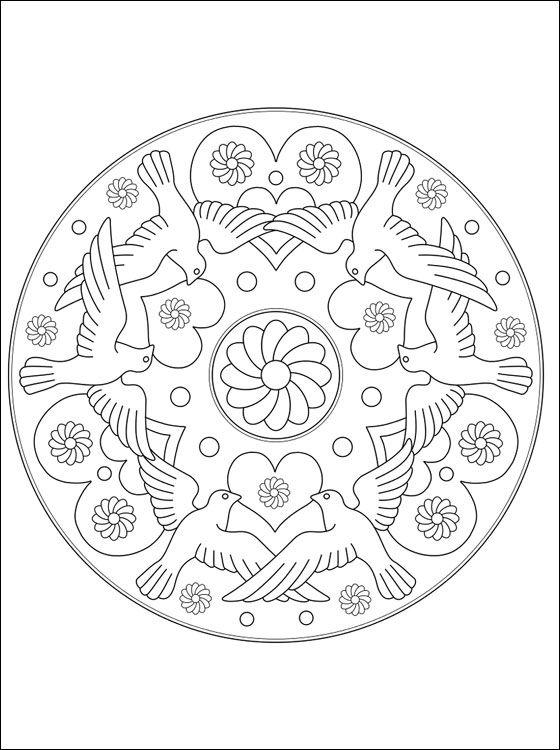 para imprimir   Mandalas   Pinterest   Colores, Mandalas y Mandalas ...