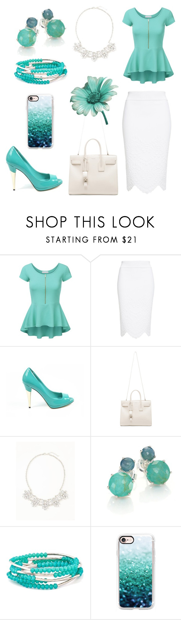 """Summer #7"" by daria-red ❤ liked on Polyvore featuring Alexander McQueen, Sebastian Milano, Yves Saint Laurent, Old Navy, Ippolita, Chrysalis, Casetify and Summer"