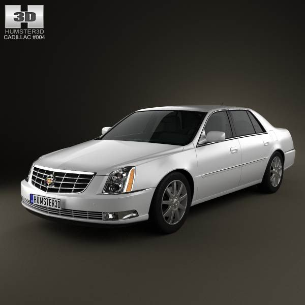 Cadillac DTS 2011 3d Model From Humster3d.com. Price: $75