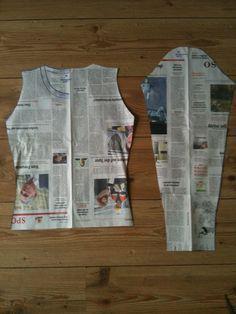 Ein Schnittmuster erstellen #shirtschnittmuster