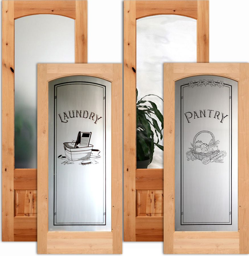 French Interior Doors Full Lite Interior Doors With Etched Glass Interior  Glass Doors Laundry Doors, Pantry Doors And More. Slab Door Or Prehung Doors  The ...