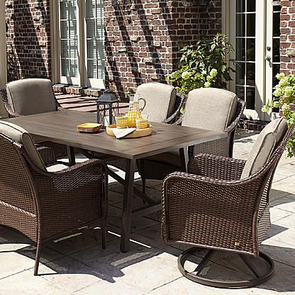 Lazboy Madeline 7 Piece Dining Set Gray  Green Thumb Or Not We Amusing La Z Boy Dining Room Sets Design Inspiration