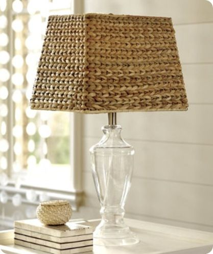 Natural Woven Lampshade Knockoffdecor Com Wicker Lamp Shade Lamp Shade Ballard Designs
