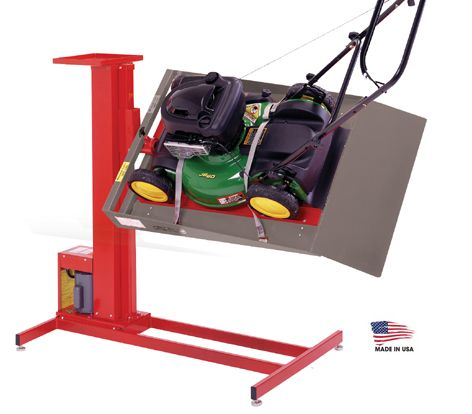 Electric Lawn Mower Lift Table Lift Table Mower Lawn Mower