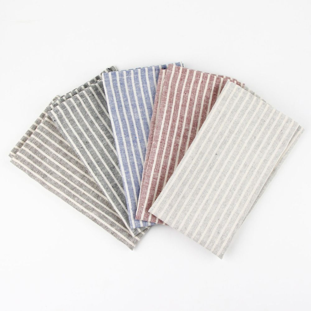 Cheap Fabric Lips Buy Quality Fabric Finishing Directly From China Fabric Towel Suppliers 30x40cm Cotton Linen Napki Linen Napkins Fabric Placemats Placemats